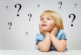 children thinking