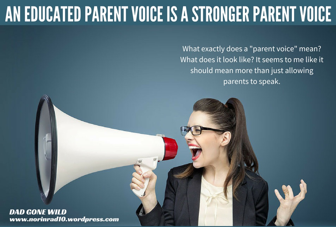 What should parents be like
